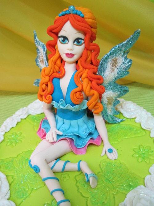Foto della torta delle Winx n. 11