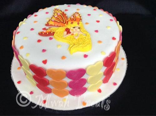 Foto della torta delle Winx n. 13