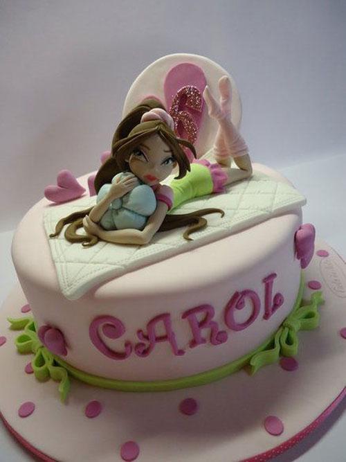 Foto della torta delle Winx n. 20