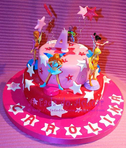 Foto della torta delle Winx n. 22