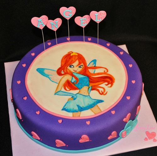 Foto della torta delle Winx n. 23