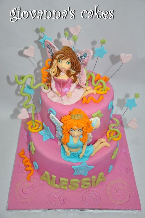 Foto della torta delle Winx n. 24