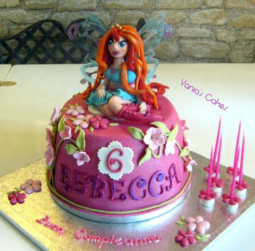 Foto della torta delle Winx n. 26
