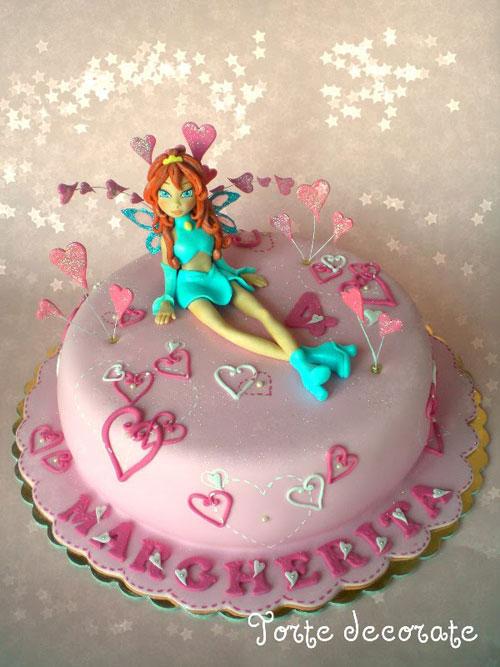 Foto della torta delle Winx n. 27