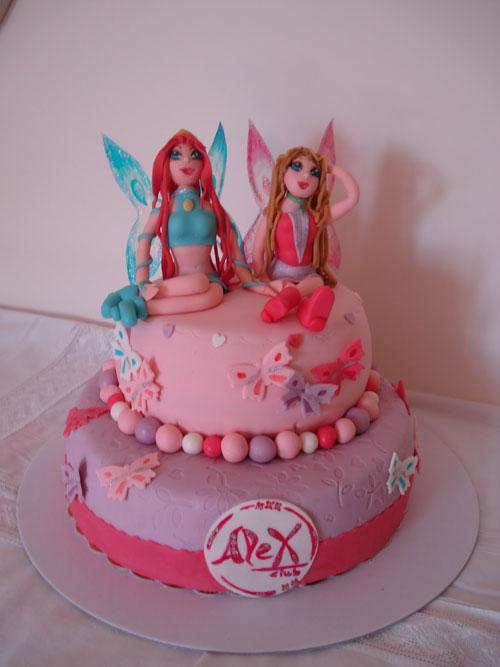 Foto della torta delle Winx n. 28