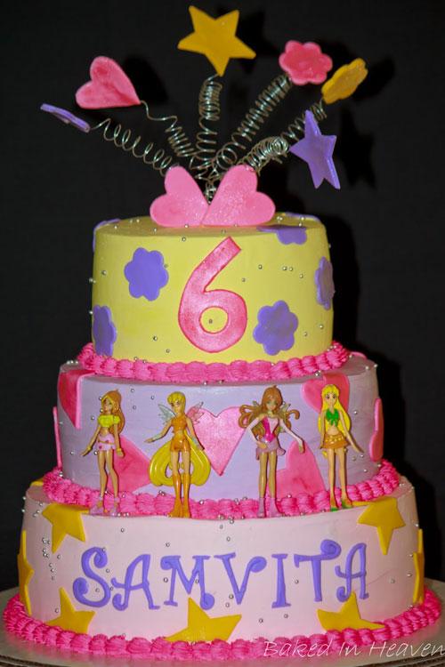 Foto della torta delle Winx n. 29