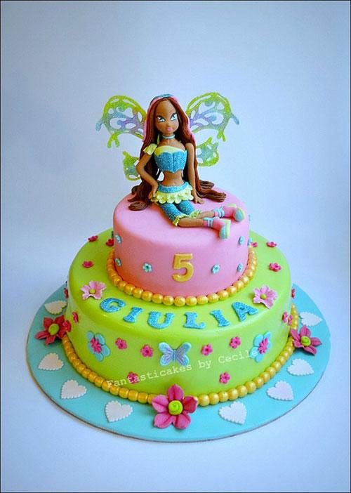 foto della torta delle Winx n. 31
