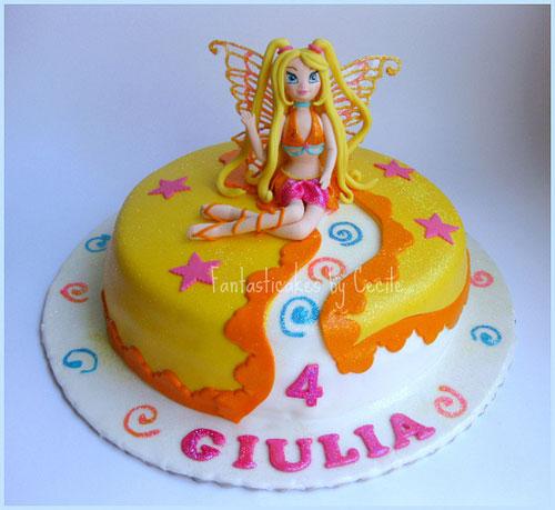 Foto della torta delle Winx n. 34