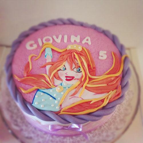 Foto della torta delle Winx n. 35