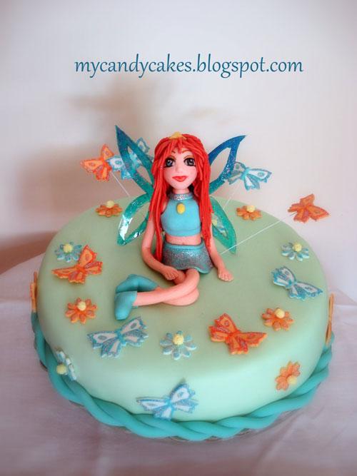 Foto della torta delle Winx n. 41