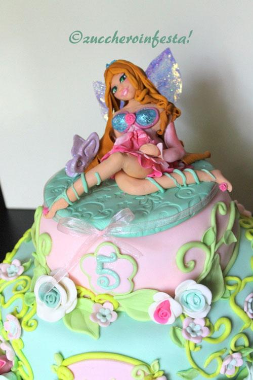 Foto della torta delle Winx n. 42