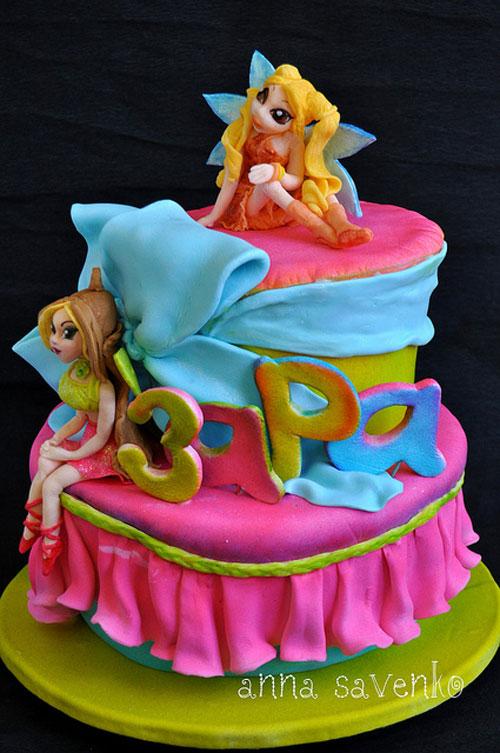 Foto della torta delle Winx n. 43