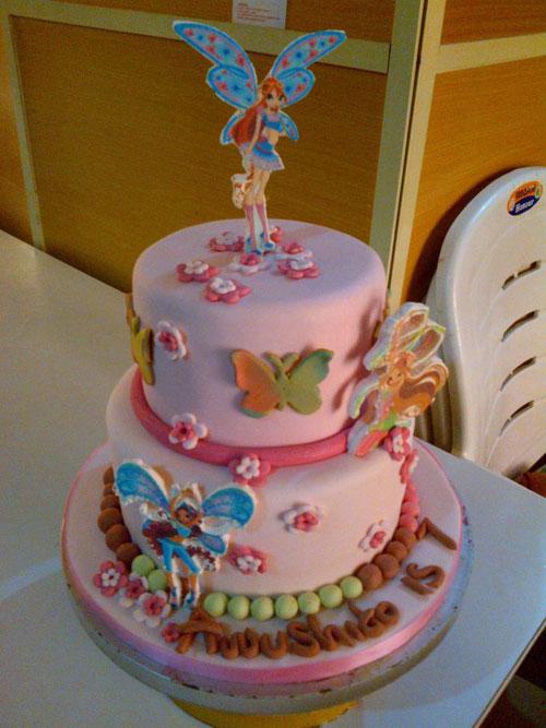 Foto della torta delle Winx n. 45