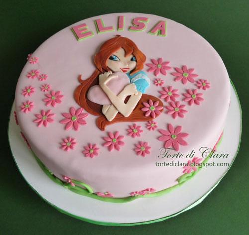 Foto della torta delle Winx n. 47