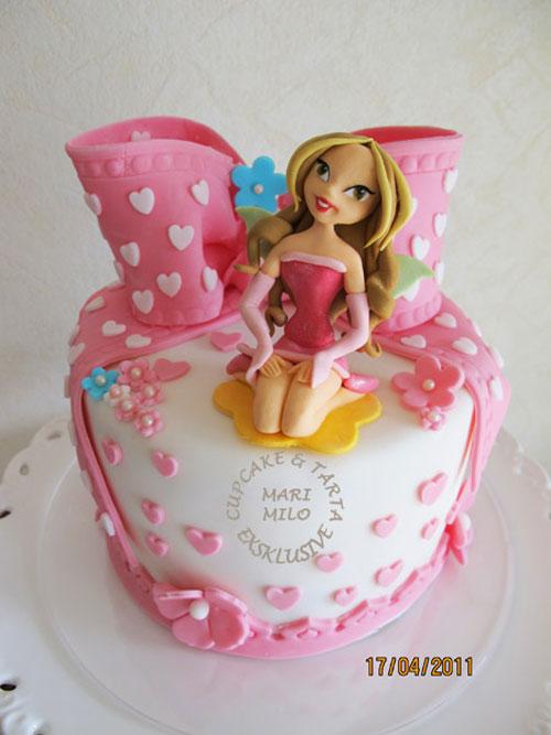 Foto della torta delle Winx n. 48