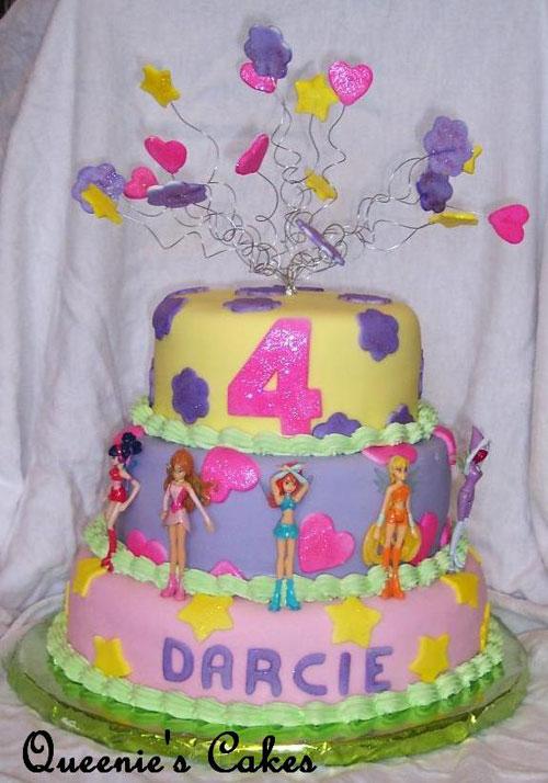 Foto della torta delle Winx n. 50