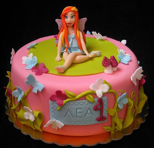 Foto della torta delle Winx n. 51