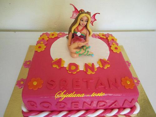 Foto della torta delle Winx n. 52