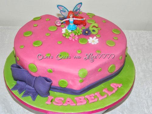 Foto della torta delle Winx n. 55