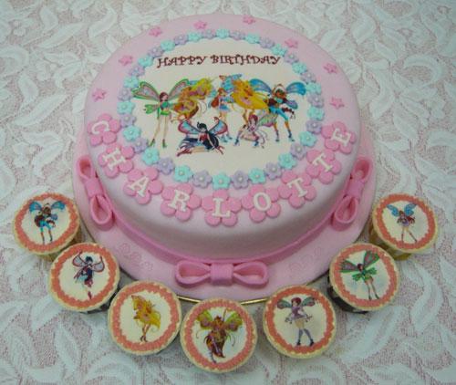 Foto della torta delle Winx n. 56