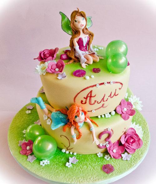 Foto della torta delle Winx n. 57