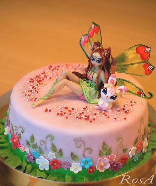 Foto della torta delle Winx n. 58