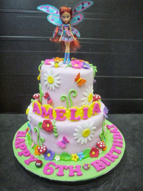 Foto della torta delle Winx n. 59