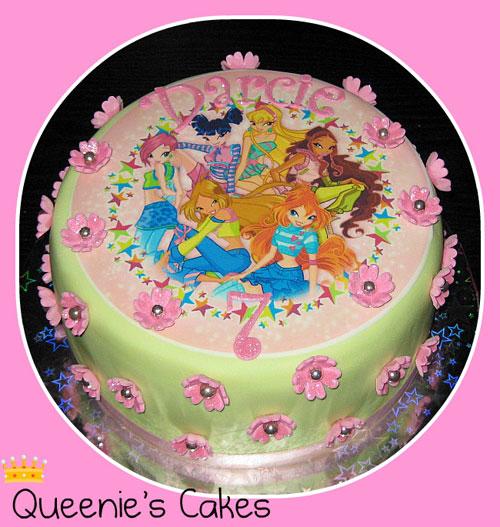 Foto della torta delle Winx n. 60
