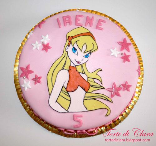 Foto della torta delle Winx n. 61