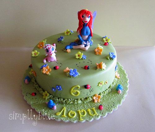 Foto della torta delle Winx n. 62