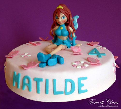 Foto della torta delle Winx n. 63