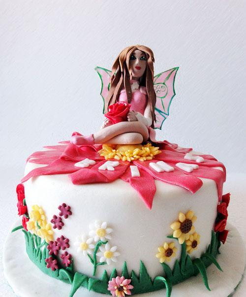 Foto della torta delle Winx n. 65
