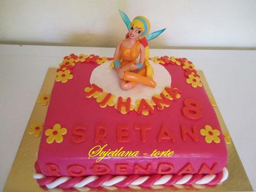 Foto della torta delle Winx n. 66