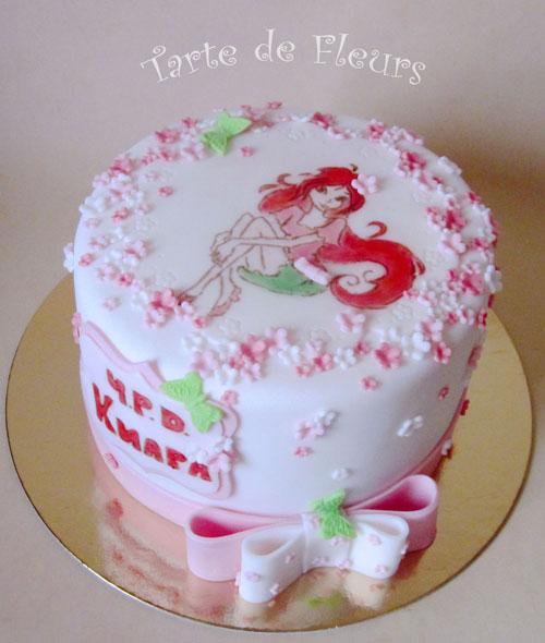 Foto della torta delle Winx n. 67