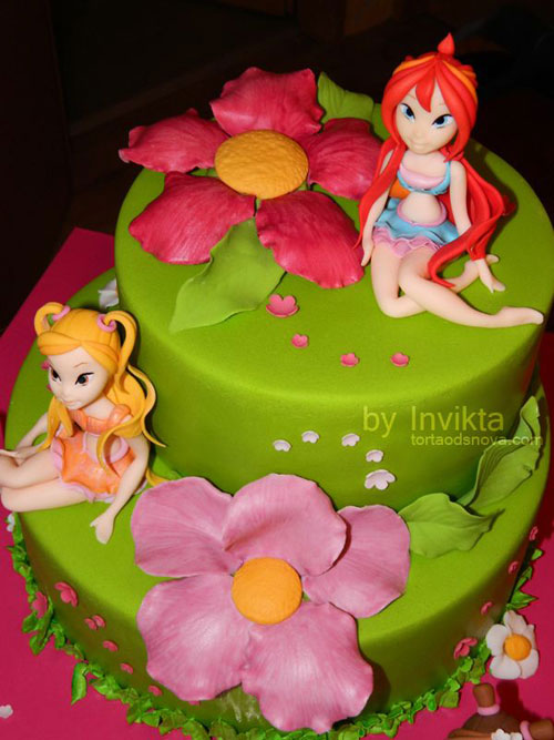 Foto della torta delle Winx n. 69