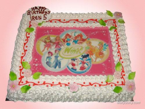 Foto della torta delle Winx n. 71