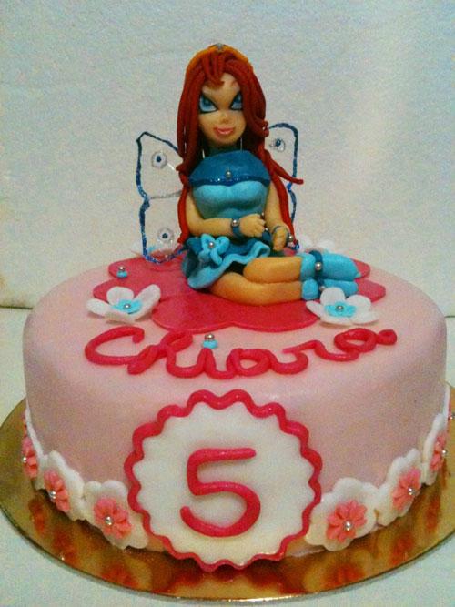Foto della torta delle Winx n. 72