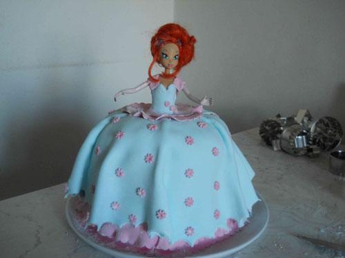 Foto della torta delle Winx n. 73
