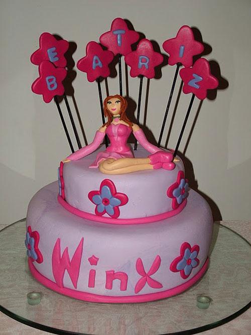 Foto della torta delle Winx n. 75