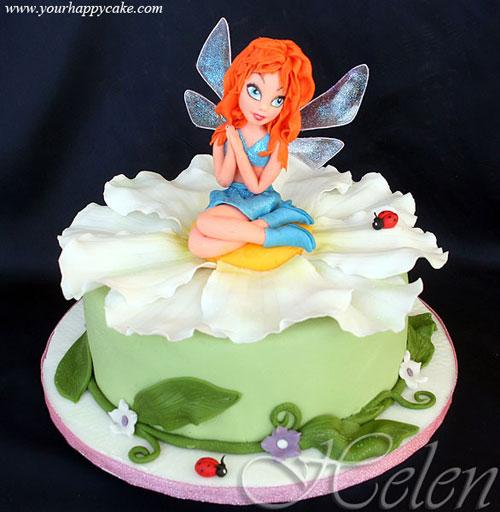 Foto della torta delle Winx n. 76