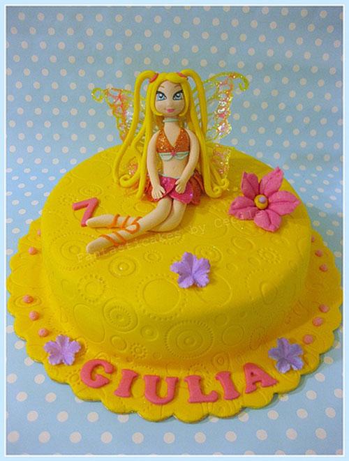 Foto della torta delle Winx n. 77