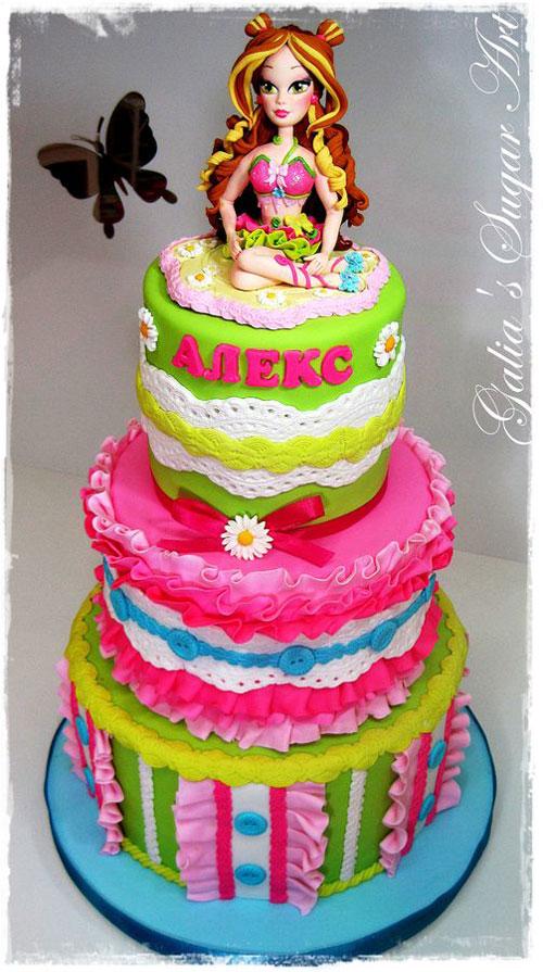 Foto della torta delle Winx n. 80
