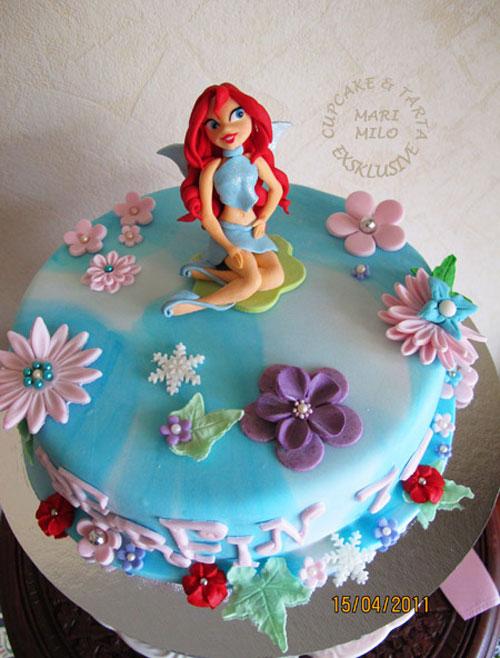 Foto della torta delle Winx n. 82