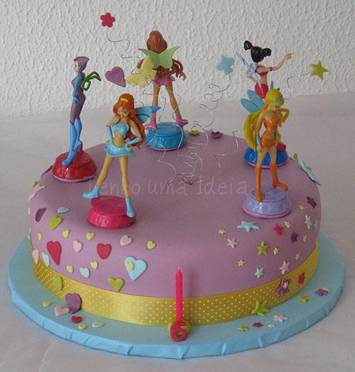 Foto della torta delle Winx n. 83
