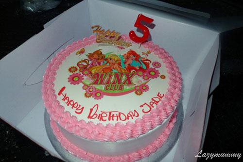Foto della torta delle Winx n. 84