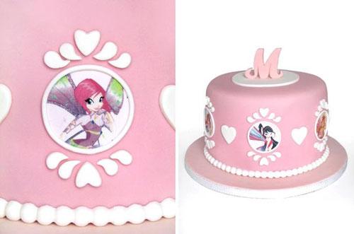Foto della torta delle Winx n. 85