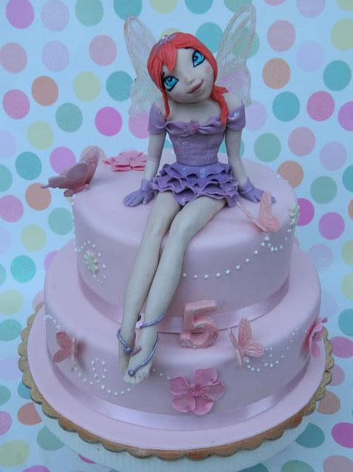 Foto della torta delle Winx n. 90