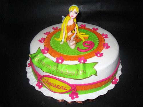 Foto della torta delle Winx n. 91