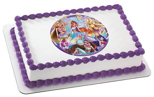 Foto della torta delle Winx n. 92