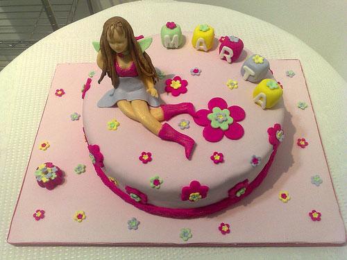Foto della torta delle Winx n. 93